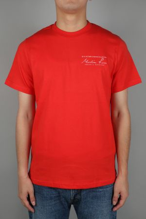 Martine Rose CLASSIC SS T-SHIRT / RED(MRAW17506)