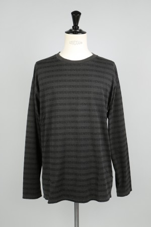 Studio Seven Shadow SEVEN Border LS Tee(70863744)