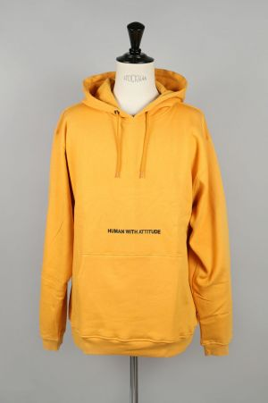 Human With Attitude SCHOOLBOY HOODIE(SUNFLOWER)