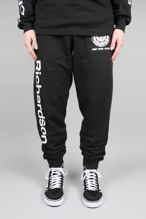 Richardson Strawberry Teamster Sweatpant Black(SS18004)