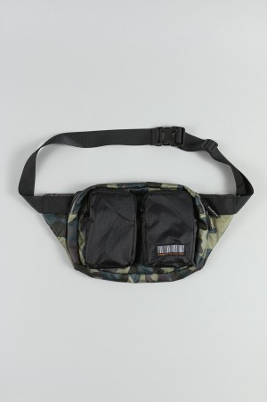 Human With Attitude DATA WAIST BAG-CAMO BLACK