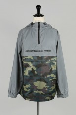 Human With Attitude SAY MY NAME REFLECTIVE PULLOVER JACKET - CAMO / 3M