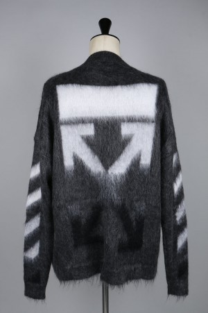 Off-White BRUSHED MOHAIR /GRAY(OMHA036F186500050710)