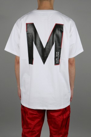 M+RC Noir BIG M T-SHIRT - WHITE
