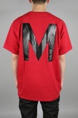 M+RC Noir BIG M T-SHIRT - RED