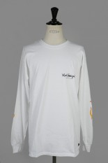 Mark Gonzales LONG TEE - WHITE (MG18W-LT05)