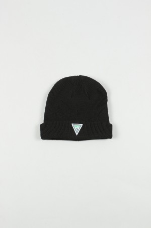 Guess Green Label Guess Beanie/BLACK(GRFW18-033)