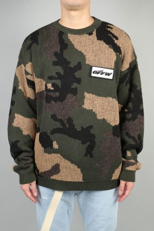 Off-White CAMOU SWEATER (OMHA056E18A350019900)