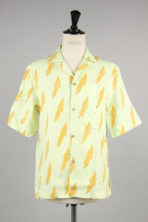 Acne Studios -Men- SIMON DIAG W -MINT GREEN SUNFLOWER YELLOW-(BB0034-)