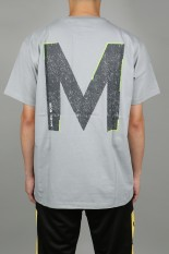 M+RC Noir M+RC NOIR BIG M GREY TEE