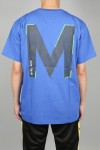 M+RC NOIR BIG M BLUE TEE