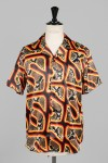 Cougar Black Hawaiian Shirt Short Sleeve