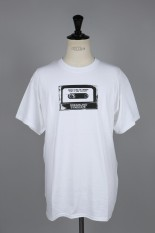 Dreamland Syndicate Tape T-Shirt/ WHITE(T61809)