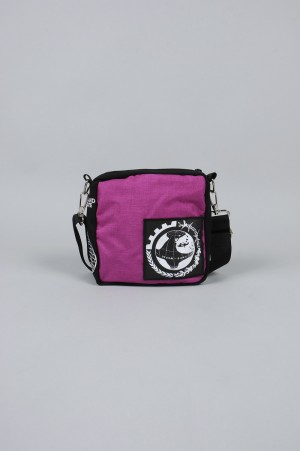Dreamland Syndicate Shoulder Bag with Zipped Inner Pocket / PURPLE(SB61801)