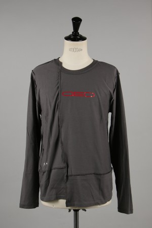Geo Wide GEO Axis Long Sleeve/CHARCOAL(GO-S19-0000-016)