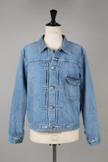 Remi Relief denim 1st jacket / natural wash - USED BLUE (RN1002 SDC)