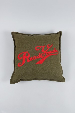 READYMADE CUSHION -RED-  (RE-WO-RE-00-00-81)