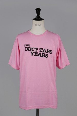 The Duct Tape Years MAIN LOGO T-SHIRT/PINK
