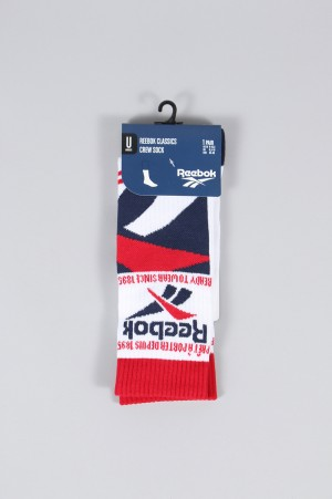 Reebok - Men - CL GR VECTOR CREWSOCKS -WHITE- (ED1299)