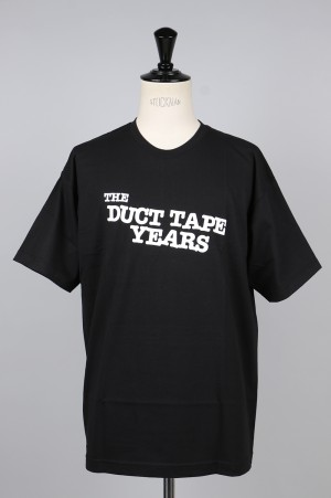 The Duct Tape Years MAIN LOGO T-SHIRT/BLACK