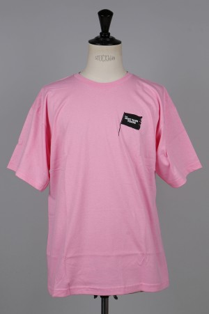The Duct Tape Years BLACK FLAG T-SHIRT/PINK