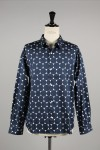 DOT SHIRT L / NAVY