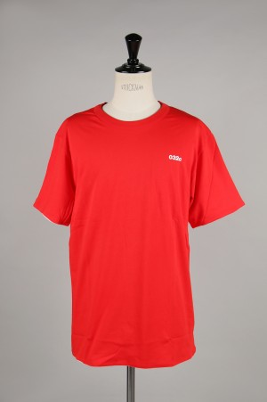032c Reversible T-Shirt with Logo Print / RED(61091000)