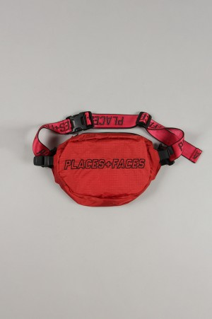 Places+Faces WAIST BAG/RED