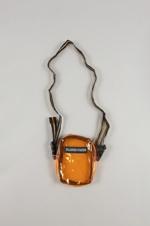 Places+Faces PVC SIDE BAG/ORANGE