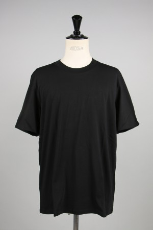 Jil Sander -Men- S/S CREW NECK T-SHIRT -BLACK- (JSMP706020)