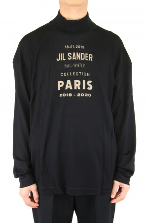 Jil Sander -Men- MOCK NECK PULLOVER SWEATER (JSMP751045)
