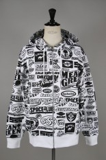 SSS World Corp Sponsors All Over Multiprint Sweater Front Zip(SWEATER10)