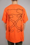 Off-White ABSTRACT ARROWS S/S OVER TEE / ORANGE(OMAA038F191850111910)