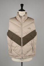 The North Face Purple Label - Men - Cotton Down Vest - BEIGE (ND2961N)