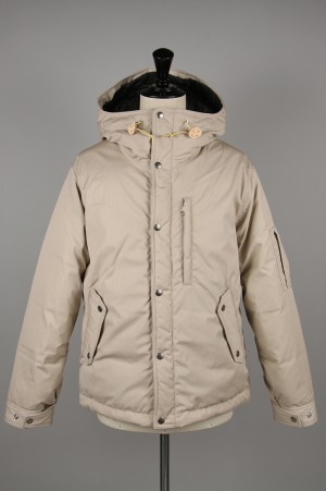 The North Face Purple Label - Men - 65/35 Mountain Short Down Parka - SAND BEIGE (ND2966N)