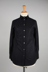 Madisonblue MADAME LONG SHIRT FLANNEL -NAVY(MB194-5012)
