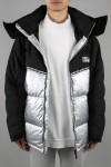 MAURI Rip With Tape Hooded Down - SILVER (642504C)