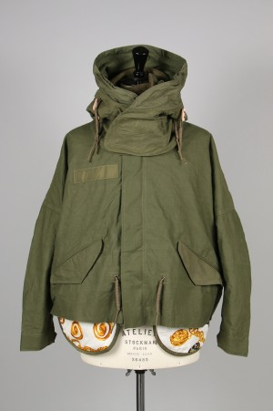 Readymade CUT FISHTAIL PARKA (RE-CO-KH-00-00-20-2) size1