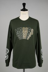Masses T-SHIRTS L/S L / GREEN