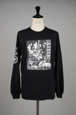 Masses T-SHIRTS L/S C/ BLACK