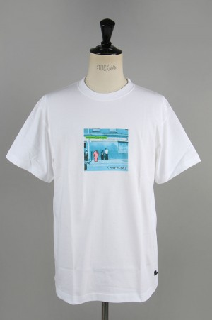 Mark Gonzales Tee - WHITE (MG20S-T07)
