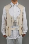 A-Cold-Wall* BUCKLED UTILITY GILET HARNESS (ACWUGL014WHL)