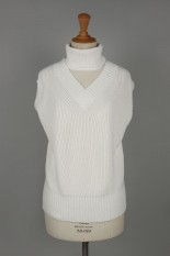 sacai -Women- Knit Pullover -Off White (20-04874)