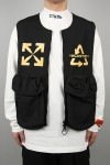 Off-White MULTISYM SKYDIVE UTILITY VEST/BLACK YELLOW(OMKI012S20I010121060)