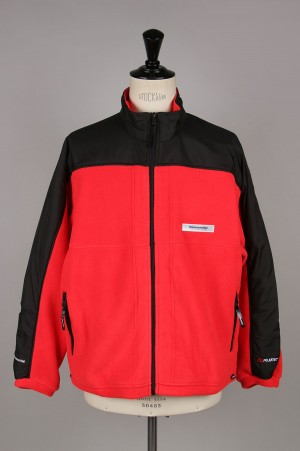 Thisisneverthat POLARTEC Fleece Jacket / Red(TN19FOW007)