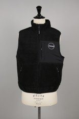 Thisisneverthat C-Logo Boa Fleece Vest / Black(TN19FOW010)