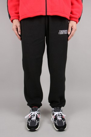 Thisisneverthat POLARTEC Fleece Pant / Black(TN19FPA015)