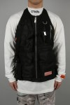 Heron Preston NYLON POCKETS VEST/BLACK(HMEA041S208820071000)