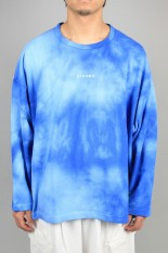 Magic Stick Deep Concentration TIE DYE LS Tee /FADE BLUE(20SS-MS3-029)