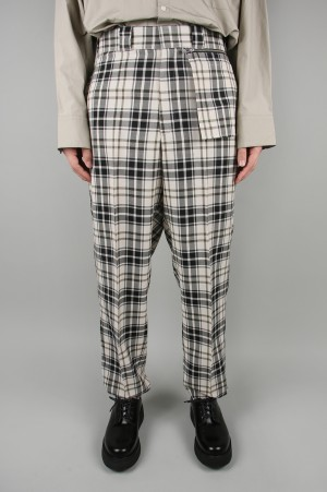 N.hoolywood CHECK SLACKS (1201-PT04-023)